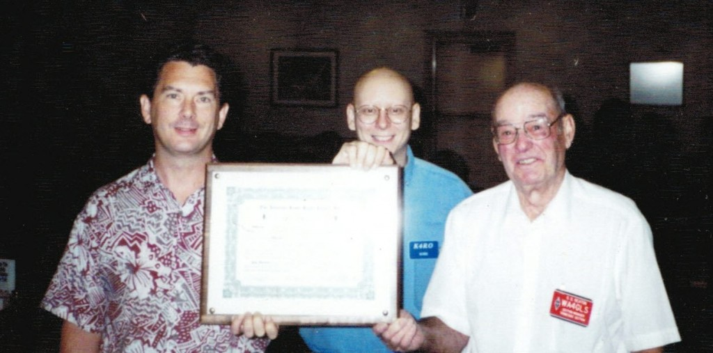 TCG becomes ARRL-affiliated Club 1997-cropped